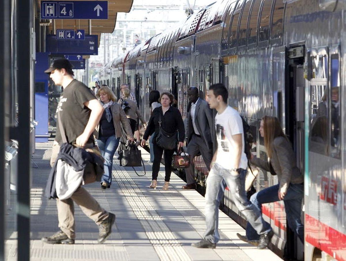 De nouveaux quais vont être construits à la gare centrale de Luxembourg, pour assurer un meilleur trafic pour les nombreux frontaliers notamment.