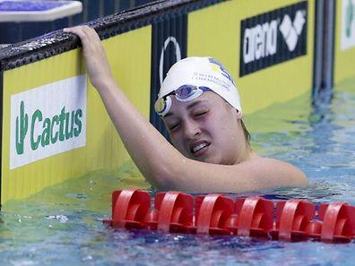 Monique Olivier / Schwimmen Open Luxembourg Nationals / 03.07.2016  / Foto: Fabrizio Munisso
