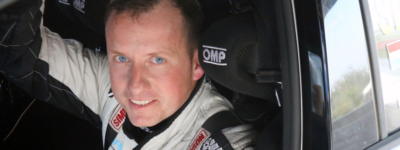 Steve Fernandes terminou no terceiro lugar da edição deste ano do Rali do Luxemburgo.
