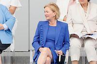 Gesundheitsministerin Paulette Lenert (r.) war Ehrengast in Paris.
