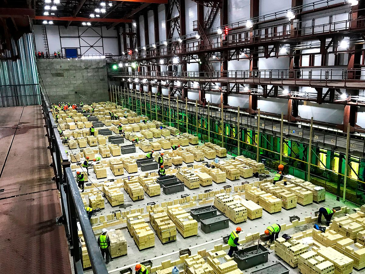 En Russie, pour le compte de l'usine Severstal,les équipes de Paul Wurth auront suivi la construction d'une nouvelle cokerie.