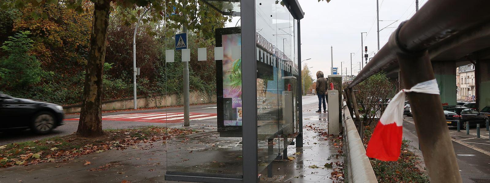 Der Tatort liegt in der Avenue des Terres Rouges in Esch/Alzette.