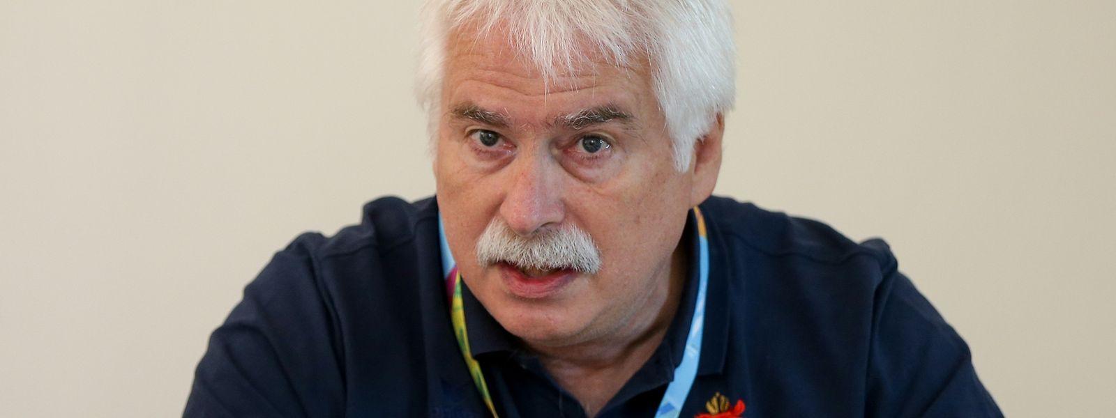 Heinz Thews wurde im Dezember 2001 zum COSL-Sportdirektor ernannt.