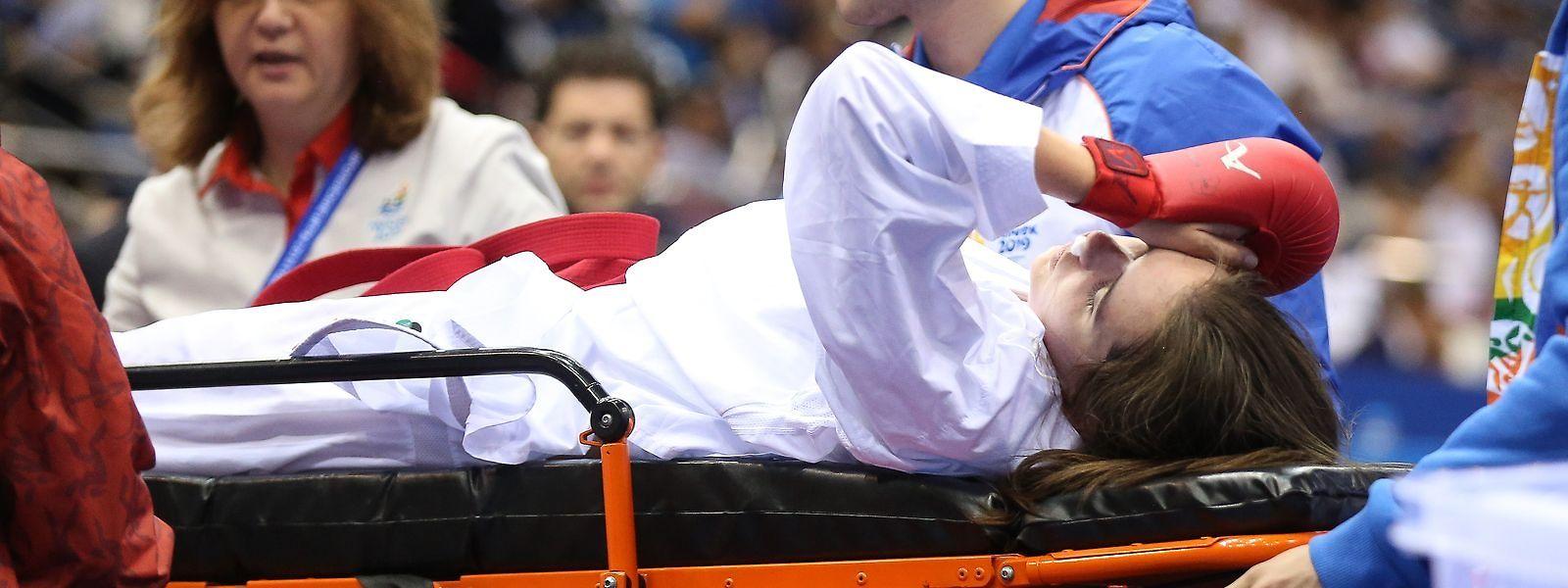 Jenny Warling a dû être hospitalisée pour des examens de contrôle.