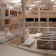 Viel Platz gibt es in der neuen Nationalbibliothek auf dem Kirchberg.