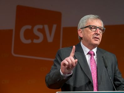 CSV Nationalkongress - Jean-Claude Juncker-  Photo : Pierre Matge