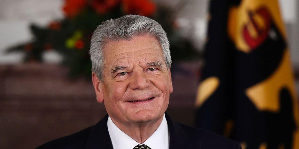 Joachim Gauck will kein zweites Mandat antreten.