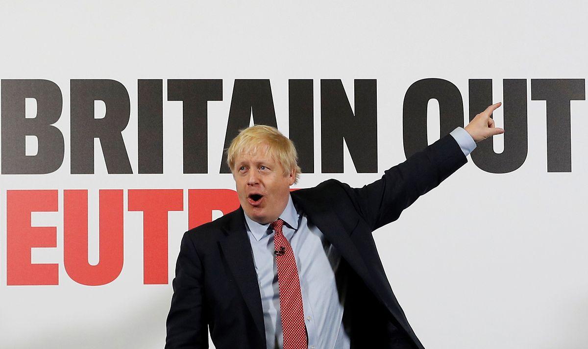 Boris Johnson a fait du Brexit son cheval de bataille.