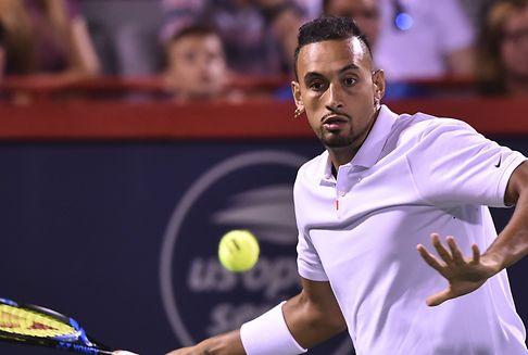 Tennisspieler Kyrgios rastet erneut aus