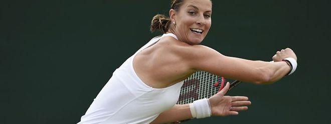 Wimbledon: Aus für Mandy Minella in der zweiten Runde.