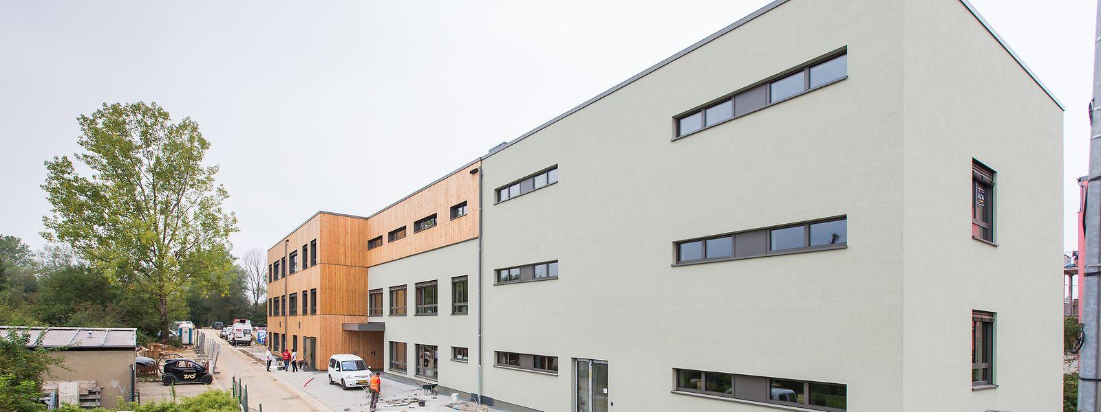 Dier Fertigstellung des Neubaus erfolgte in einer Rekordzeit von sechs Monaten.