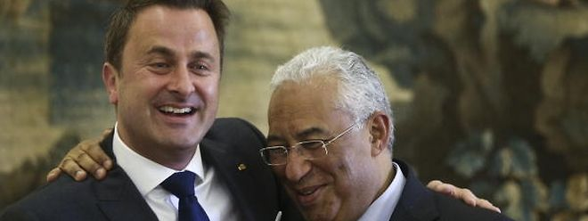 António Costa retribui a visita que Xavier Bettel fez a Lisboa em novembro