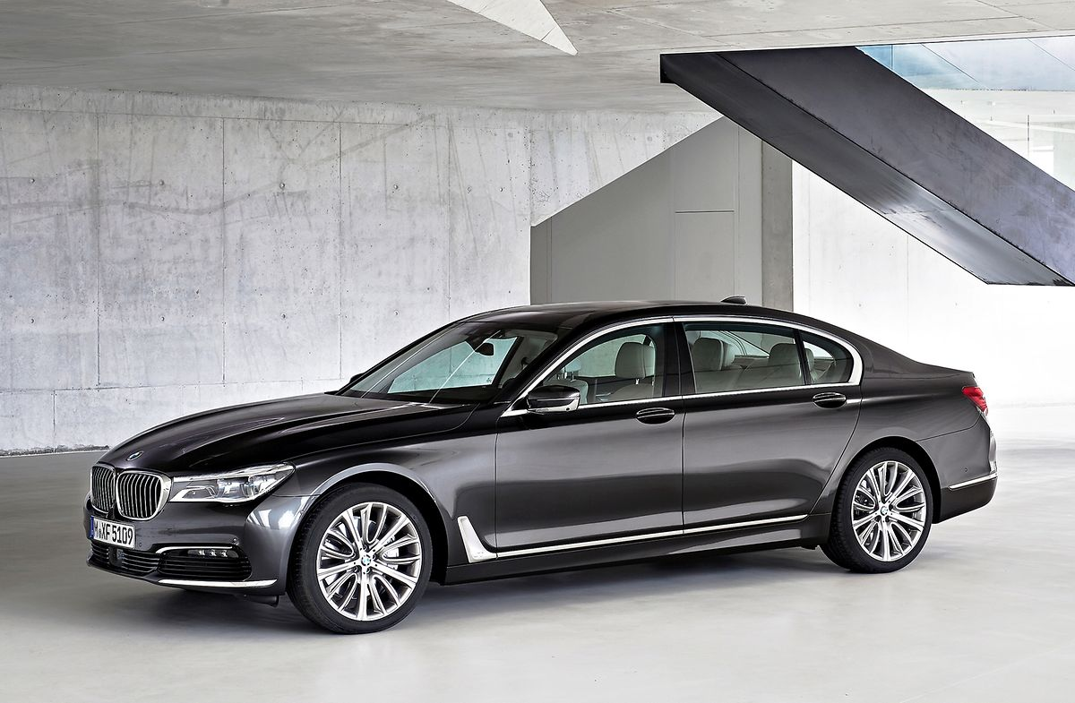 Förmlicher Luxus: Von BMW kommt eine neue Generation des 7ers nach Frankfurt.