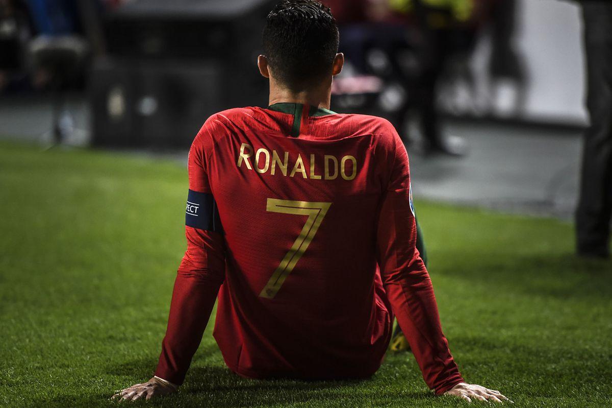 Blessé à la 31e minute, Cristiano Ronaldo devrait manquer à la Juventus lors de son duel face à l'Ajax en quart de finale de la Ligue des champions.