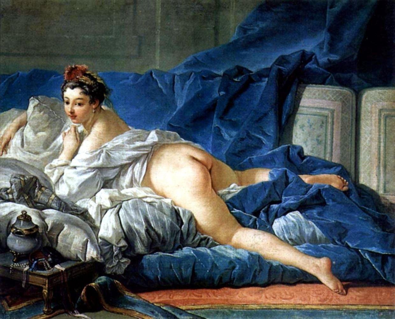 """""""L'Odalisque Brune"""" (1745) von François Boucher (1703 - 1770) ist eines der Bilder, die Kunstlehrer Mateo Rueda den Job kosteten. Das Original hängt im Louvre."""