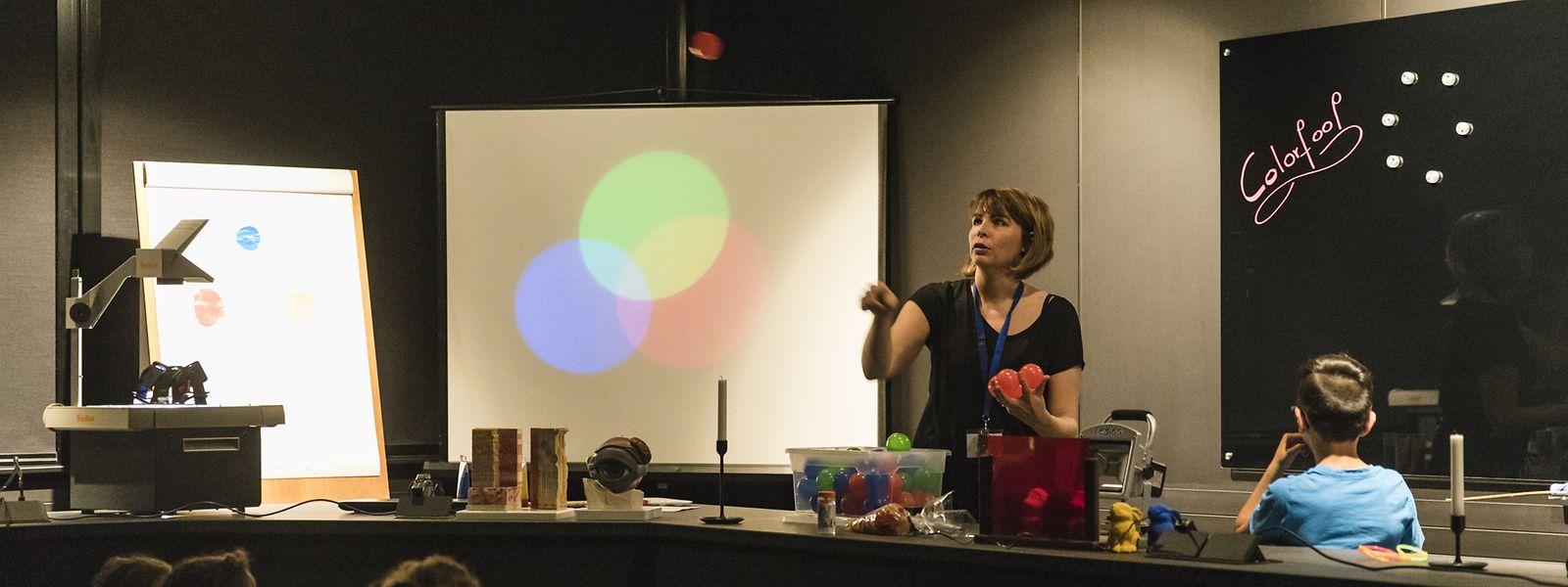 Im Differdinger Science Center werden die Gehmnisse des Lichts auf anschauliche Art und Weise erklärt.