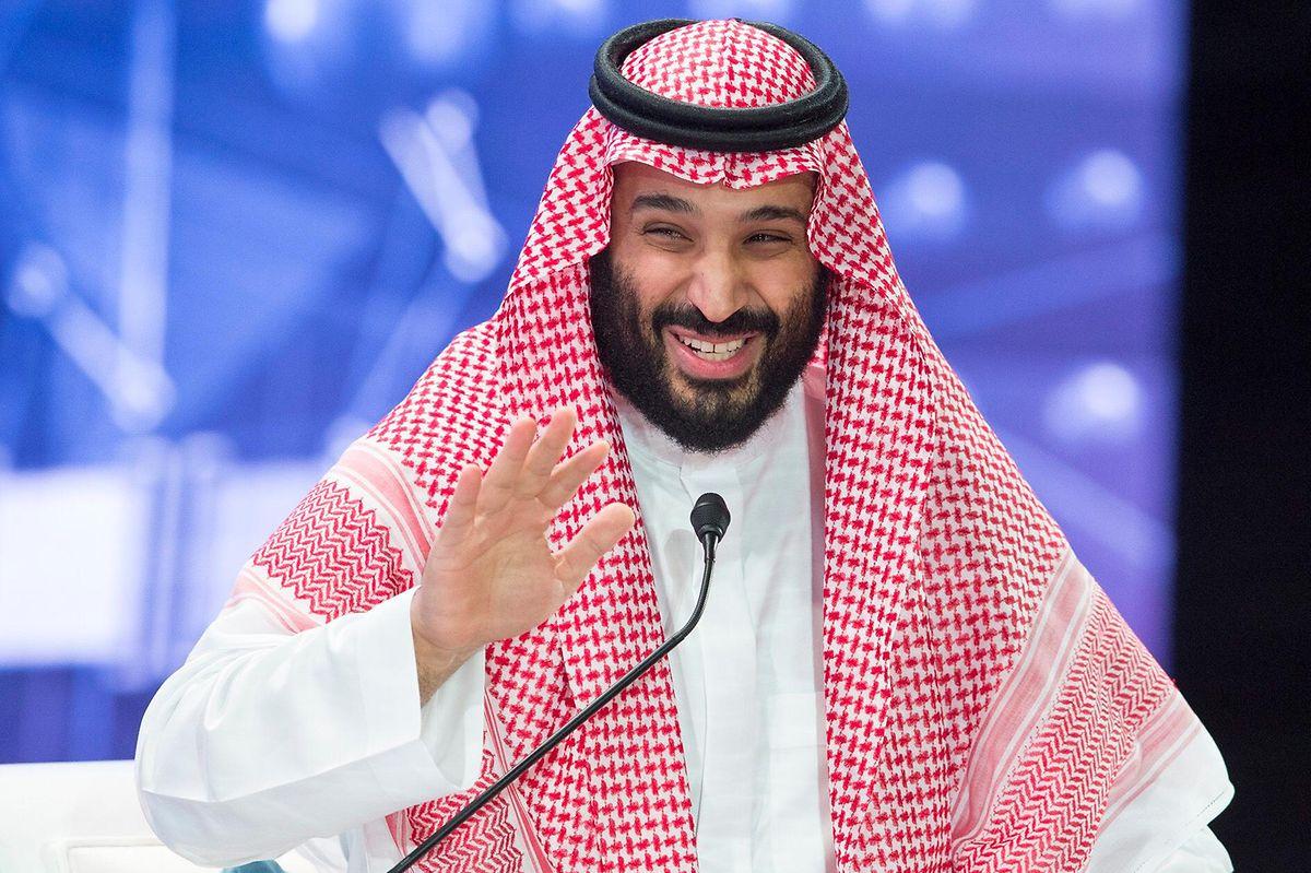 Der kontroverse Kronprinz von Saudi-Arabien, Mohammed bin Salman.