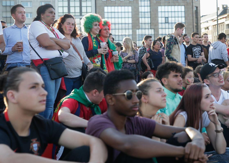 Portugal-Espanha, 15.06.2018, Glacis, Luxemburgo. Foto: Chris Karaba
