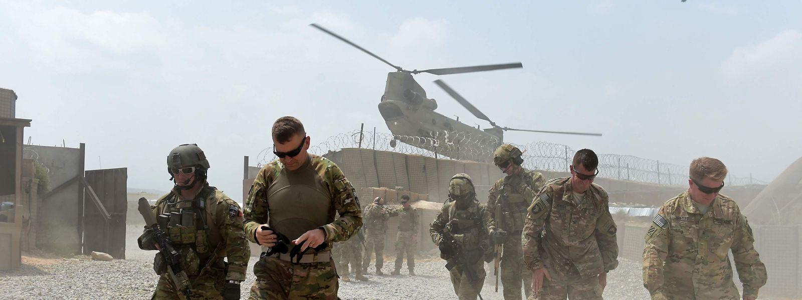 Des soldats américains en 2015 dans la province de Nangarhar.