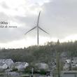 Weil die offiziellen Grafiken der Bürgerinitiative zufolge irreführend waren, hat diese ihre eigene Fotomontage gemacht, um die optischen Auswirkungen der Windräder zu zeigen.
