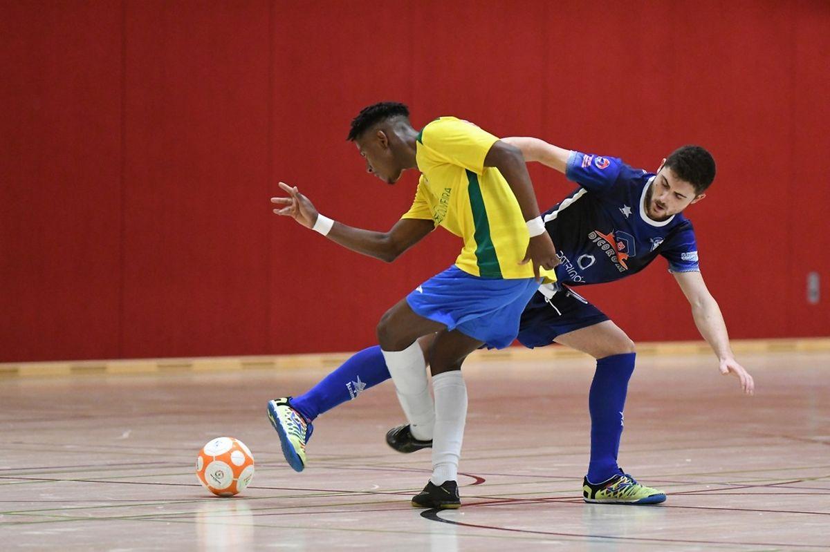 Micael Gonçalves et le Samba 7 ALSS Futsal ont battu sur le fil Rui Pereira et l'US Esch 5-4.