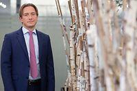 Wirtschaft, Interview mit Jean-Paul Olinger, UEL, Unions des Entreprises Luxembourgeoise, Foto: Chris Karaba/Luxemburger Wort