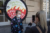 Lokales, Dritter Klimamarsch in Luxemburg - Youth for Climate Luxembourg, Foto: Lex Kleren/Luxemburger Wort