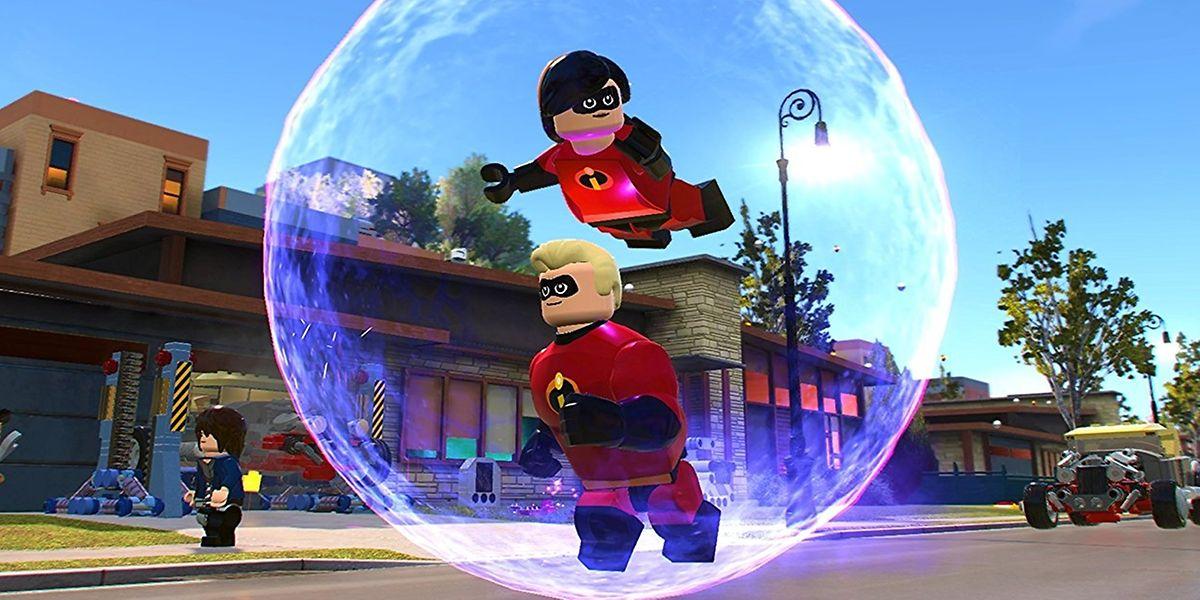"""Spielspaß für die ganze Familie: """"Lego Die Unglaublichen"""", das Spiel zum Film."""