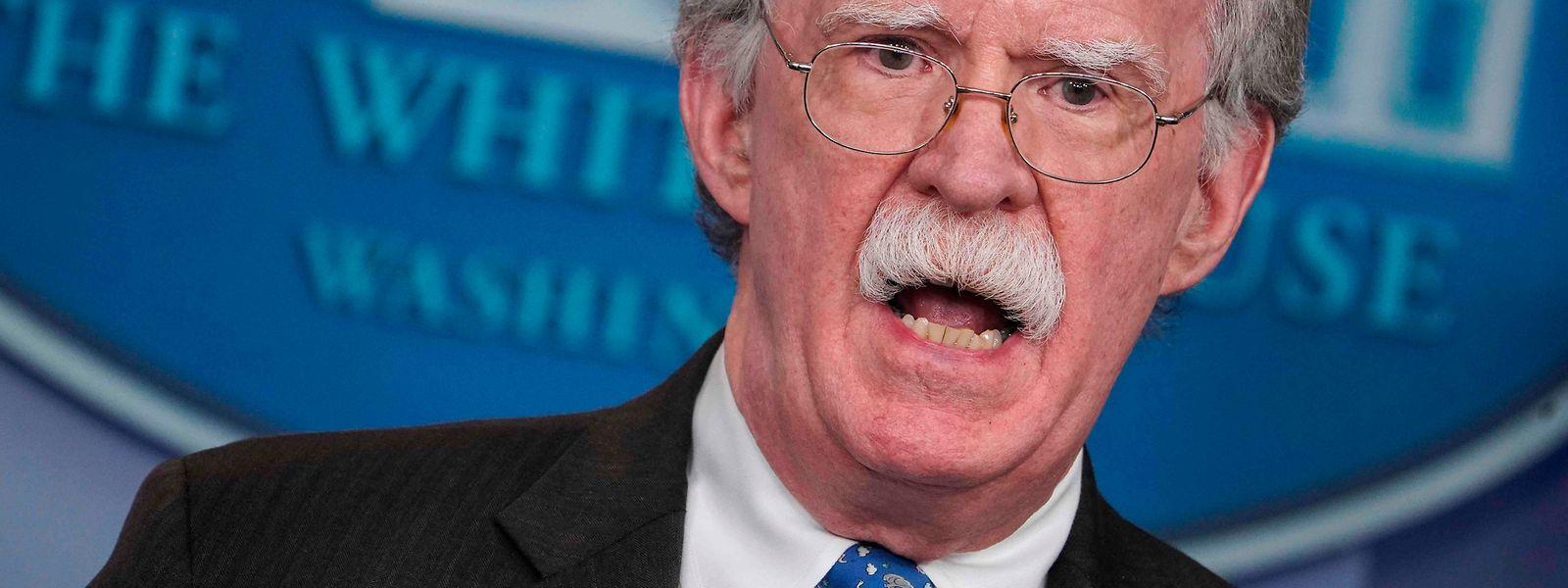 """Trump kritisierte, Bolton habe nach seiner Entlassung """"sofort ein gemeines und unwahres Buch"""" geschrieben."""