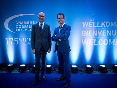 Cérémonie 175 ans chambre de commerce luxembourg  luxembourg le 30.09.2016 Photo christophe Olinger