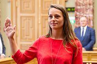 IPO , Chamber , Vereidigung Chantal Gary , Dei Greng , Foto: Guy Jallay/Luxemburger Wort