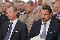 Pol, Luxemburg/Serbien, offizieller Besuch von Premierministerin A-Brnabić, Xavier Bettel, Grand Duc Henri, Foto: Chris Karaba/Luxemburger Wort