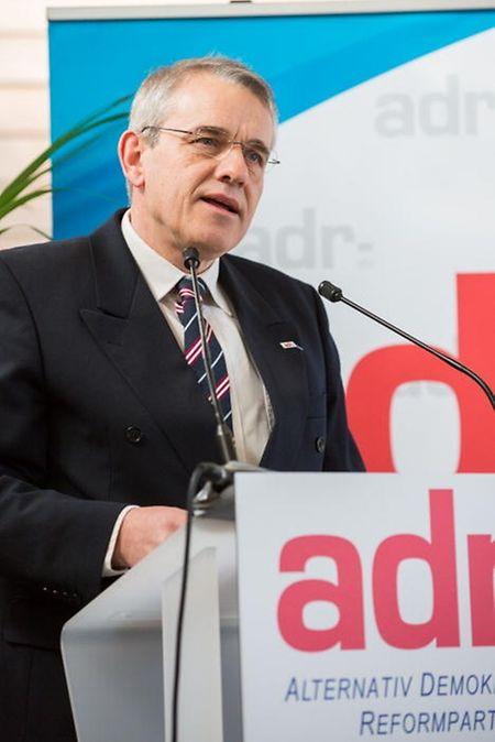 ADR-Nationalpräsident Jean Schoos sieht seine Partei nicht vor einer Zerreißprobe.