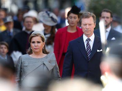 Die Großherzogin kann ihrem Mann aus familiären Gründen nicht zur Seite stehen.