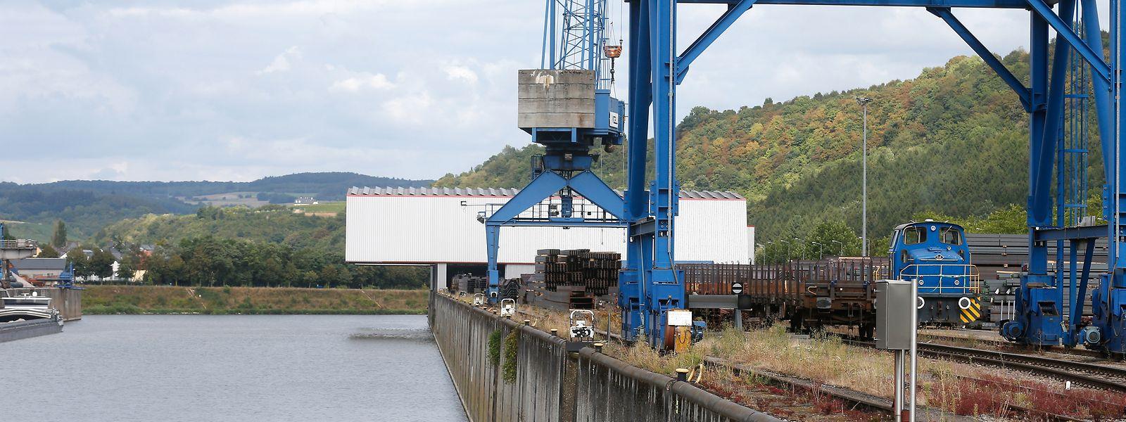 Avec de nouvelles extensions, le port de Mertert pourrait participer à une meilleure exploitation des voies navigables au Luxembourg, estime le gouvernement.