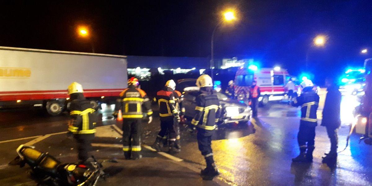Der schwerste Unfall passierte am frühen Morgen in Roost.