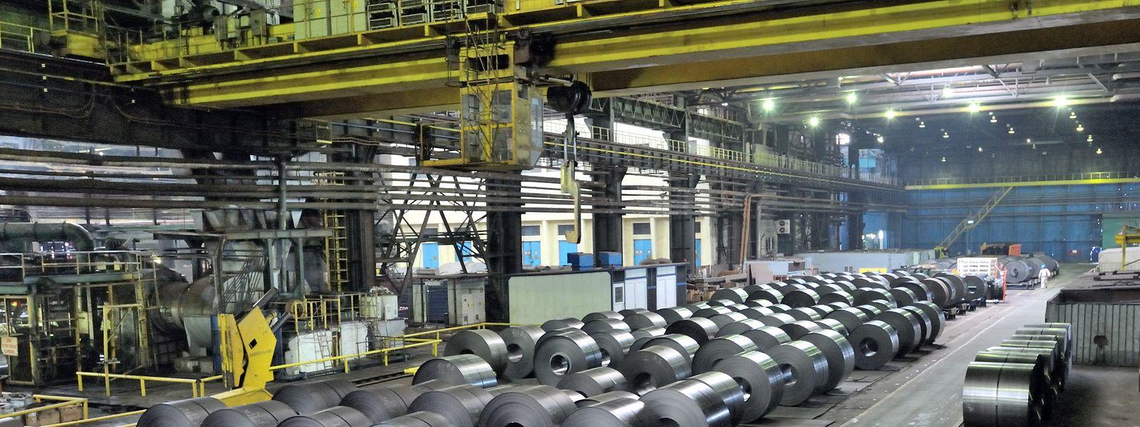 """Das Werk Galati von Liberty Steel in Rumänien: Von hier aus soll künftig """"Liège-Dudelange"""" beliefert werden."""