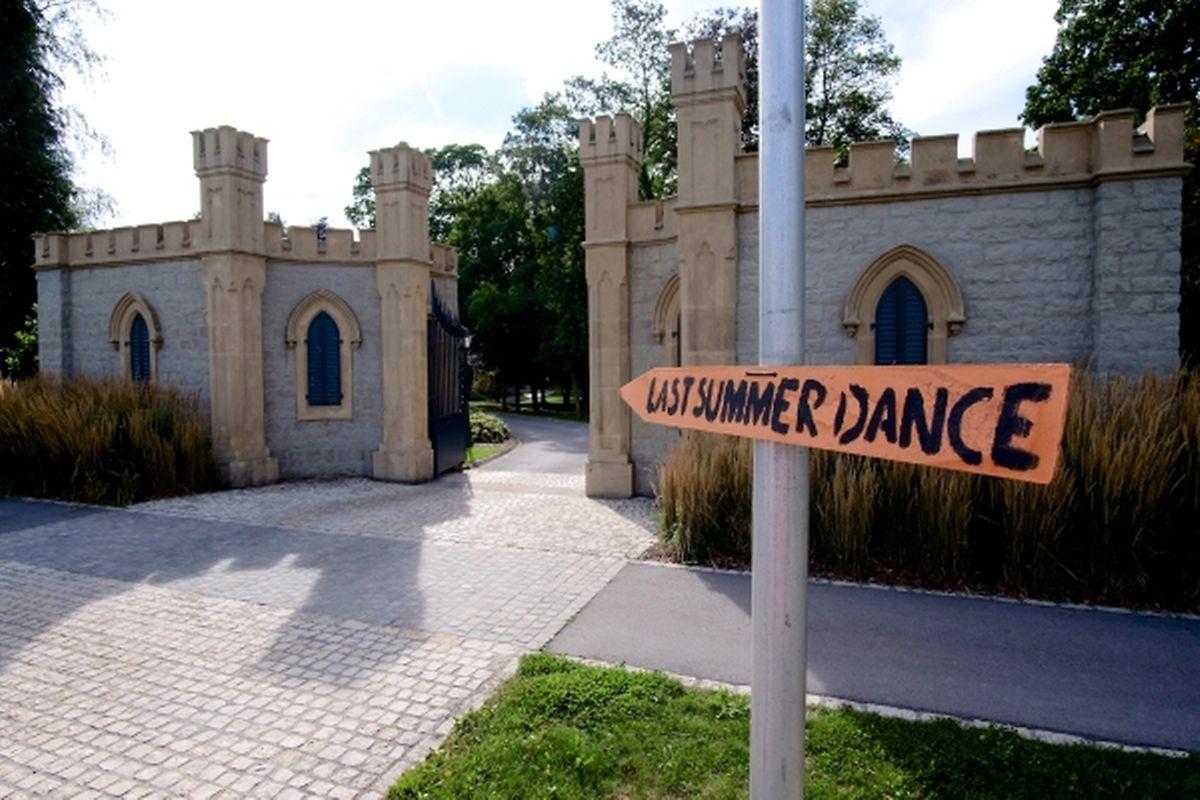 """Le festival est situé sur le site pittoresque du """"Schlasspark"""""""