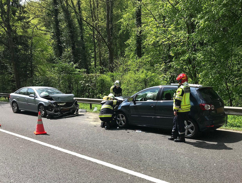 Der Unfallverursacher war aus ungeklärten Gründen auf die Gegenfahrbahn geraten.