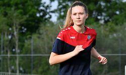 Kate Thill. Football: Entraînement équipe nationale. FLF, Mondercange. Foto: Stéphane Guillaume