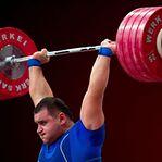 Seis halterofilistas russos suspensos por doping