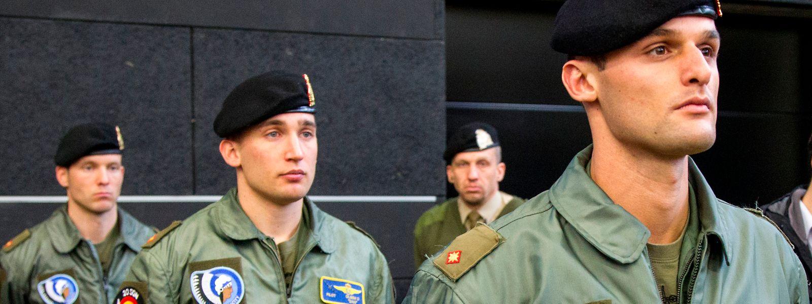 Les soldats luxembourgeois interviennent dans le cadre d'actions européennes.