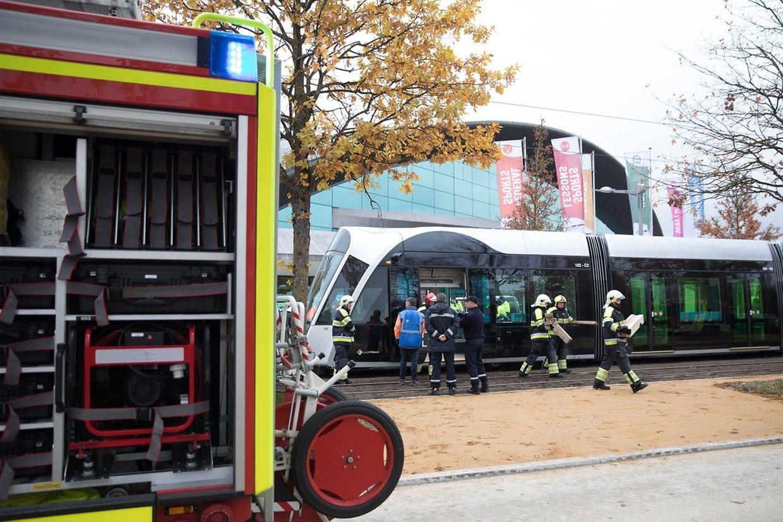 Nachdem der Unfall gemeldet wurde, waren die Rettungskräfte binnen zehn Minuten am Einsatzort.