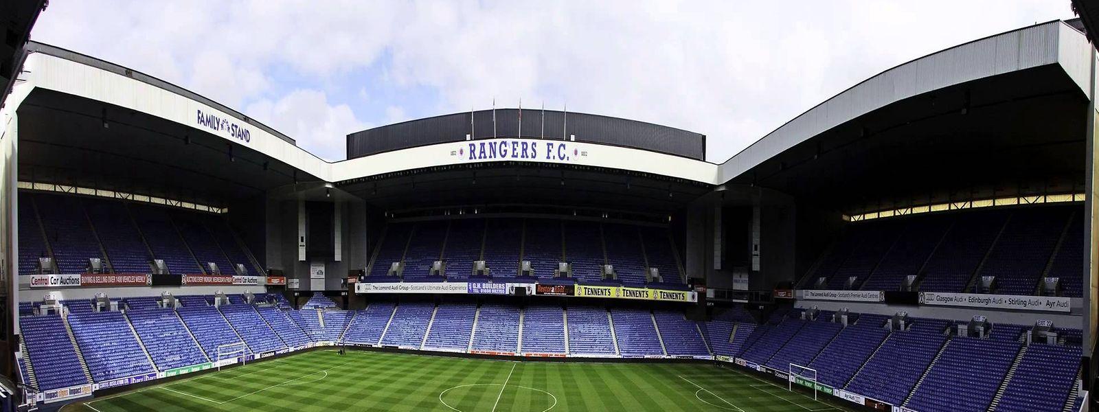 Ibrox Park: un temple du football écossais que les joueurs du Progrès investiront la semaine prochaine