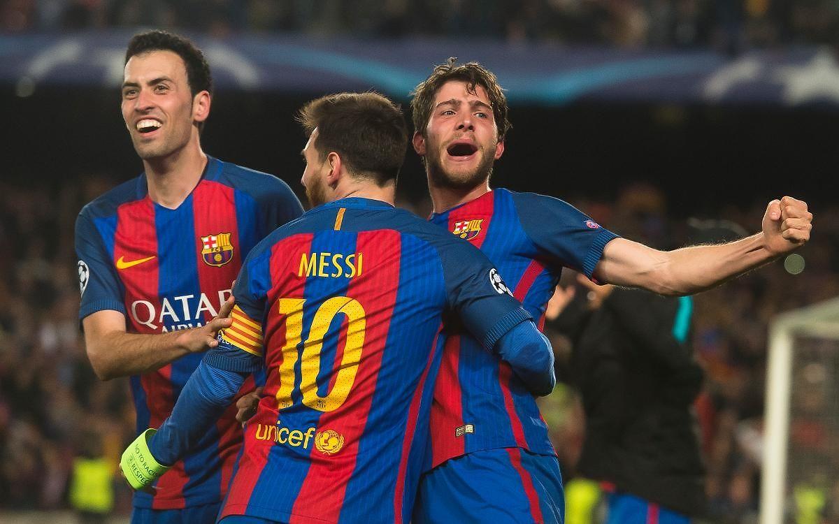 En 2017, le Barça de Lionel Messi renverse le PSG six buts à un au Camp Nou