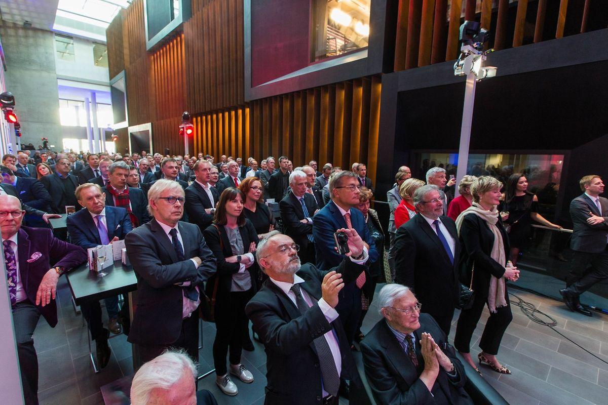 Le nouveau bâtiment de RTL a été inauguré lors d'une cérémonie mercredi soir.