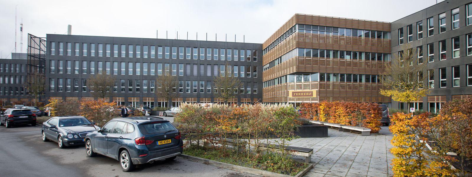 Les bureaux du siège actuel de Ferrero International (complexe B) seront transformés pour accueillir notamment le Service de Police judiciaire (SPJ).