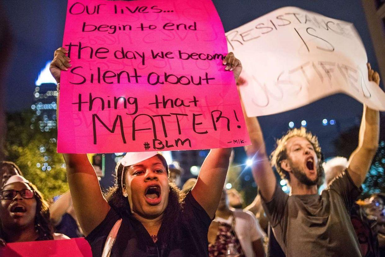 Proteste und Ausnahmezustand in Charlotte