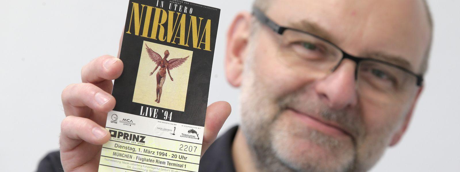 Der Münchner Gerhard Emmer war dabei, als die Kultband Nirvana ihr allerletztes Konzert gab.