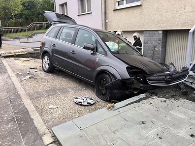 Der Fahrer hatte die Kontrolle über seinen Wagen verloren.